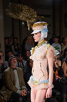 Catwalk<br /> at the Pam Hogg show as part of London Fashion Week, London<br /> <br /> <br /> ©Ash Knotek  D3378  16/02/2018
