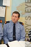 GARDAI: Speaking to the media at the Garda Press Conference in Killorglin Garda Station on Monday, Inspector Donal Ashe