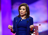Judge Jeanine Pirro of Fox News speaks at the Conservative Political Action Conference (CPAC) at the Gaylord National Resort and Convention Center in National Harbor, Maryland on Saturday, March 2, 2019.<br /> Credit: Ron Sachs / CNP