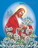Alfredo, EASTER RELIGIOUS, OSTERN RELIGIÖS, PASCUA RELIGIOSA, Christo, paintings+++++,BRTOCH34070CP,#ER#