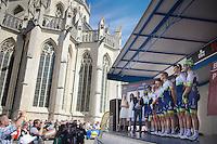 Orica-GreenEDGE team presentation<br /> <br /> 55th Brabantse Pijl 2015
