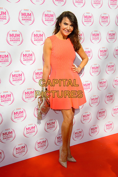 LONDON, ENGLAND - MARCH 01: Lizzie Cundy attends the Tesco Mum Of The Year Awards 2015 at the Savoy Hotel, on March 01, 2015 in London, England. <br /> CAP/JC<br /> &copy;JC/Capital Pictures