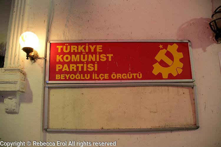 The Beyoglu branch of the Turkish Communist Party