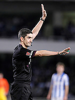 Spanish referee Undiano Mallenco during La Liga match.January 19,2013. (ALTERPHOTOS/Acero) /NortePhoto