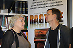 """Rehearsals for Ragtime starring General Hospital Tyne Daly """"Caroline"""" talks with Jarrod Emick on February 11, 2013 for a concert at Avery Fisher Hall, New York City, New York on Monday February 18, 2013. (Photo by Sue Coflin/Max Photos)"""