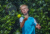 Hilversum, Netherlands, August 7, 2017, National Junior Championships, NJK, Bram Poel<br /> Photo: Tennisimages/Henk Koster