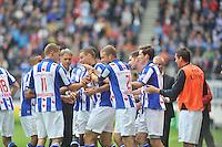 VOETBAL: HEERENVEEN: 15-09-2013,  Abe Lenstra Stadion, SC Heerenveen-FC Groningen, Kenneth Otigba heeft gescoord, ©foto Martin de Jong