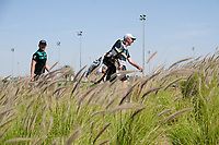 Matt Wallace (ENG) on the 14th tee during the final round of  the Saudi International powered by Softbank Investment Advisers, Royal Greens G&CC, King Abdullah Economic City,  Saudi Arabia. 02/02/2020<br /> Picture: Golffile | Fran Caffrey<br /> <br /> <br /> All photo usage must carry mandatory copyright credit (© Golffile | Fran Caffrey)