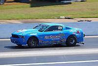 May 6, 2017; Commerce, GA, USA; NHRA super stock driver Bill Skillman during qualifying for the Southern Nationals at Atlanta Dragway. Mandatory Credit: Mark J. Rebilas-USA TODAY Sports