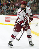 Tyler Moy (Harvard - 2) - The Harvard University Crimson defeated the visiting Cornell University Big Red on Saturday, November 5, 2016, at the Bright-Landry Hockey Center in Boston, Massachusetts.