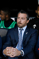 Fulham manager, Slavisa Jokanovic seen during the Carabao Cup match between Fulham and Bristol Rovers at Craven Cottage, London, England on 22 August 2017. Photo by Carlton Myrie.