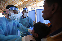 Treating diphtheria in Bangladesh with the UK's Emergency Medical Team in Kutupalong, Cox's Bazar