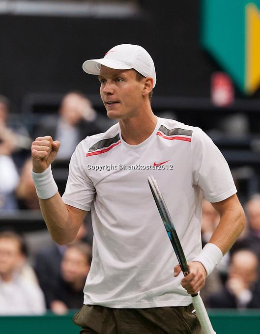 17-02-12, Netherlands,Tennis, Rotterdam, ABNAMRO WTT, Tomas Berdych