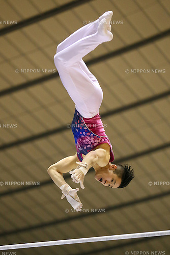 Tomomasa Hasegawa, MAY 9, 2014 - Artistic Gymnastics : The 68th All Japan Gymnastics Championship Men's Individual All-Around preliminary at 1st Yoyogi Gymnasium, Tokyo, Japan. (Photo by Yohei Osada/AFLO SPORT) [1156]