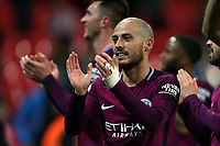 David Silva of Manchester City after Tottenham Hotspur vs Manchester City, Premier League Football at Wembley Stadium on 14th April 2018