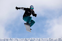 snowboarder Simon Patmore <br /> Australian Paralympic Committee<br /> 2017 Snowboard Cross training camp for <br /> 2018 Pyeongchang South Korea Paralympics<br /> Mount Hotham Ski Resort<br /> VIC / August 22nd - 24th 2017<br /> © Sport the library / Jeff Crow