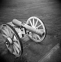 Cannon at Chalmette Battlefield, New Orleans, LA