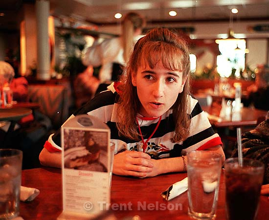 April Nelson at Red Lobster<br />