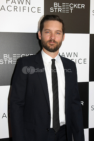 "LOS ANGELES - SEP 8: Tobey Maguire at the ""Pawn Sacrifice"" LA Premiere at the Writer's Guild Theater on September 8, 2015 in Beverly Hills, CA Credit: David Edwards/MediaPunch"