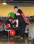 Ian Manton from the Ennis Eagles Bowling Club competing in the Special Olympics Munster qualifiers at Leisure World in Ennis. Photograph by Declan Monaghan
