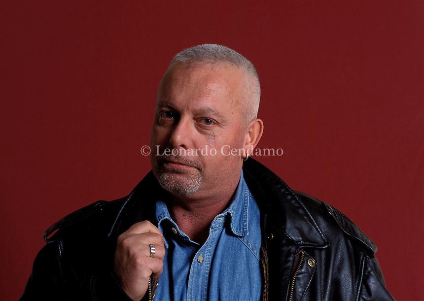2001: SANDRO OSSOLA, WRITER  © Leonardo Cendamo