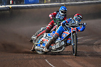 Heat 6 Brady Kurtz of Poole Pirates during Poole Pirates vs Belle Vue Aces, Elite League Speedway at The Stadium on 11th April 2018