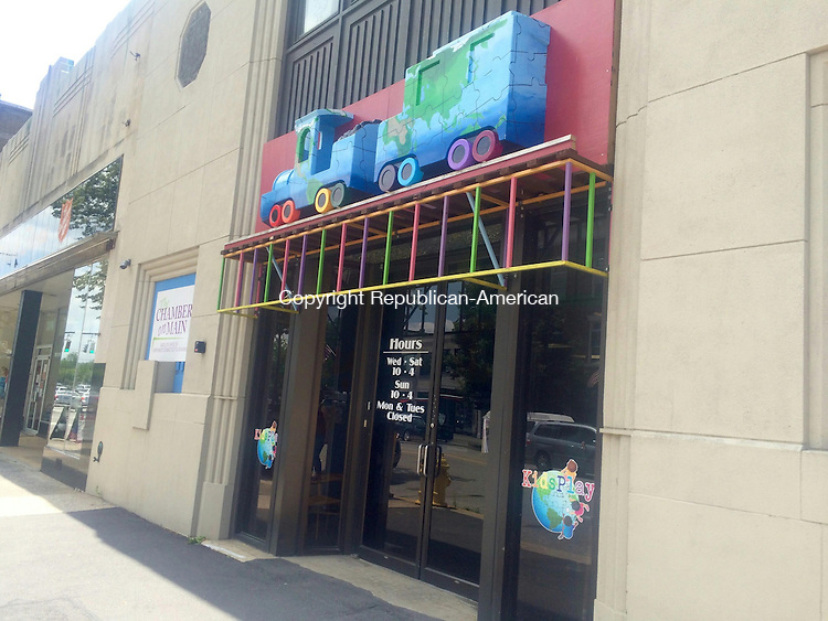 TORRINGTON, CT -- 10 July 2015 071015CH1 -- KidsPlay Children's Museum is expaning into the neighboring property at 69 East Main Street. New exhibits could be geared told older children or include larger, climbing structures. Carrie Grace Henderson Republican-American