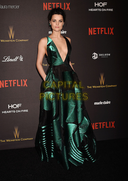 BEVERLY HILLS, CA - JANUARY 10: Actress Jaimie Alexander attends The Weinstein Company and Netflix Golden Globe Party, presented with DeLeon Tequila, Laura Mercier, Lindt Chocolate, Marie Claire and Hearts On Fire at The Beverly Hilton Hotel on January 10, 2016 in Beverly Hills, California.<br /> CAP/ROT/TM<br /> &copy;TM/ROT/Capital Pictures