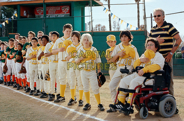 "EMMANUEL ESTRADA, CARLOS ESTRADA, KENNETH ""K.C."" HARRIS, AMAN JOHAL, BRANDON CRAGGS, TYLER PATRICK JONES, TIMMY DETERS, RIDGE CANIPE, JEFFREY TEDMORI,, TROY GENTILE & BILLY BOB THORNTON.in Bad News Bears.*Editorial Use Only*.www.capitalpictures.com.sales@capitalpictures.com.Supplied by Capital Pictures."