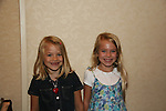 """Lucy Merriam """"Emma Lavery"""" & Alexa Gerasimovich """"Kathy Martin"""" attend All My Children Fan Luncheon on September 13, 2009 at the New York Helmsley Hotel, NYC, NY. (Photo by Sue Coflin/Max Photos)"""