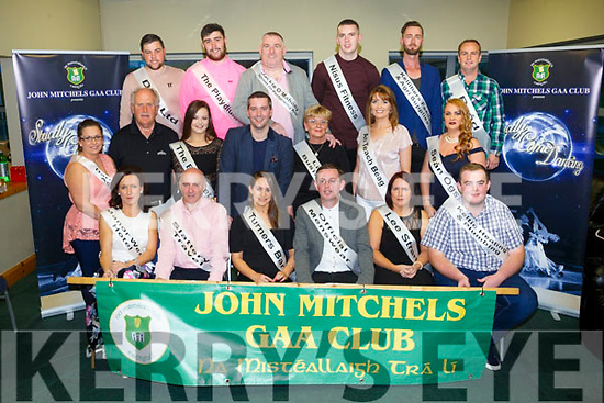 Some of the competitors at the Launch of John Mitchels GAA Strictly Come Dancing on Friday