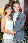 Gillian Harrington, daughter of Jack and the late Maria from Ballyduff, Tralee, and Seamus McCarthy, Son of Tom and Nora from Ballyduff, Tralee who were married on Saturday in Muckross Church, Killarney. Rev.Fr. Brendan Walsh officiated at the ceremony. Best Man was Roger Costello and groomsmen were Patrick Moran, Vincent McCarthy and Padraig Harrington. Bridesmaids were Oonagh James, Fidelma Corridon, Mairead Genner and Cara Segal. Flowergirl was Leah McCarthy. Pageboys were Jack Corridon and Brendan Duggan. The reception was held at the Muckross Park Hotel, Killarney and the couple will reside at Addergown, Ballyduff, Tralee.