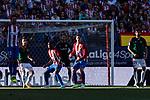 Fernando Torres of Atletico de Madrid (C) during the La Liga match between Atletico de Madrid vs Osasuna at Estadio Vicente Calderon on 15 April 2017 in Madrid, Spain. Photo by Diego Gonzalez Souto / Power Sport Images