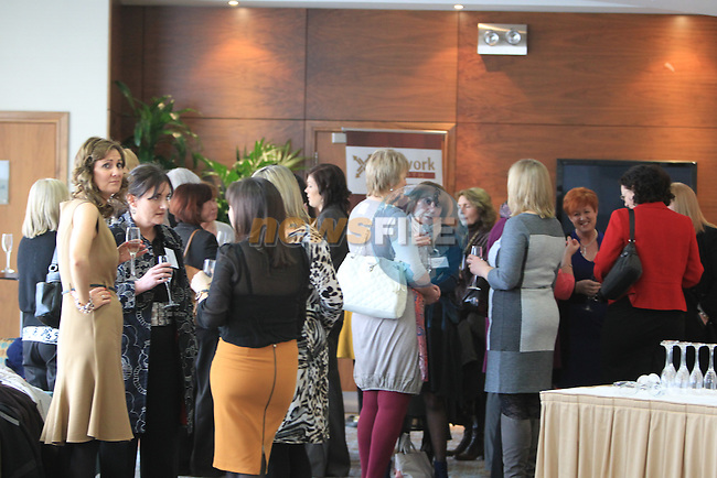 at the Network Ireland International Womens Day event in the Crowne Plaza Dundalk...Picture: Fran Caffrey/ www.newsfile.ie.