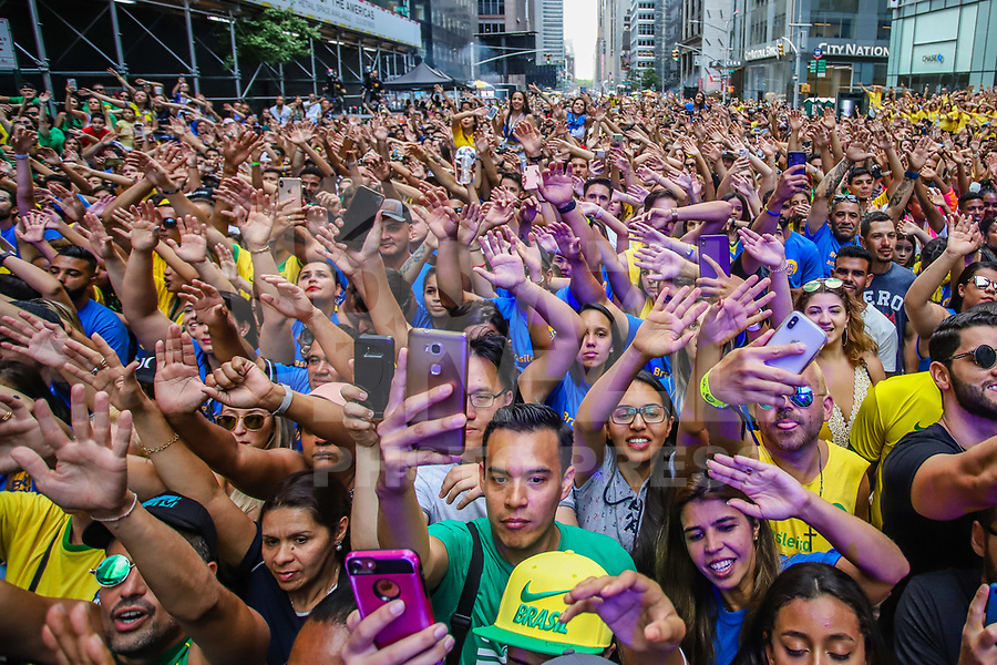 NOVA YORK (EUA) 01.09.2019 - BRAZILIAN-DAY - Publico durante brazilian Day na cidade de Nova York neste domingo, 01. (Foto: Vanessa Carvalho/Brazil Photo Press)