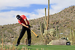 J.B. Holmes (USA) in action on the 13th tee during Day 3 of the Accenture Match Play Championship from The Ritz-Carlton Golf Club, Dove Mountain, Friday 25th February 2011. (Photo Eoin Clarke/golffile.ie)