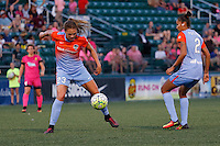 Rochester, NY - Saturday Aug. 27, 2016: Cami Privett during a regular season National Women's Soccer League (NWSL) match between the Western New York Flash and the Houston Dash at Rochester Rhinos Stadium.