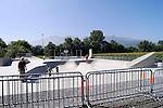 Zum Vergleich mit Hochstativfoto vom Skating-Park, in Vaduz, Liechtenstein..Foto: Paul Trummer, Mauren, Liechtenstein