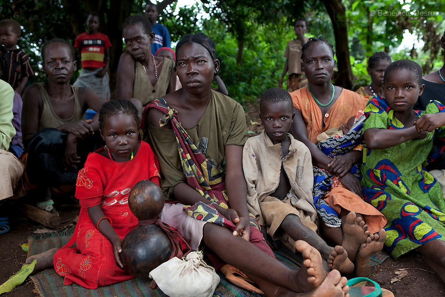 23 may 2010 - Western Equatoria State, South Sudan - People displaced by the LRA attacks. The LRA has attacked a number of roads, villages, and clinics near the town of Tambora over the last week pushing thousands of people to flee to Tambora for protection. Western Equatoria state has been rocked by LRA activities since 2006. Thousands of people have been forced from their homes as brutal attacks continue against the civilian population in the region and neighboring DRC and CAR. Photo credit: Benedicte Desrus