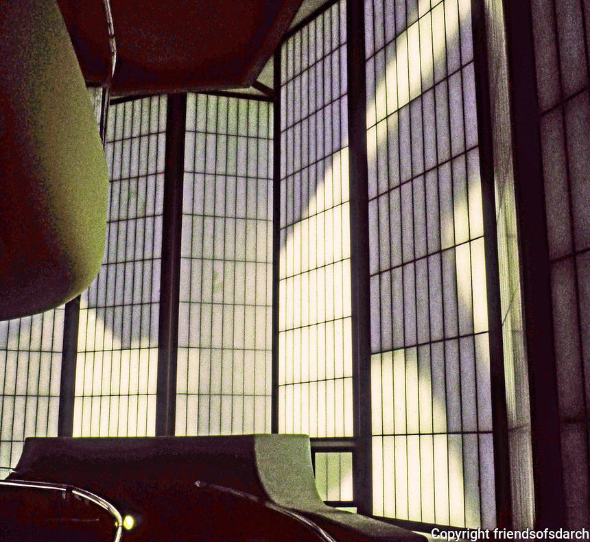 Bruce Goff: Japanese Pavilion, LACMA 1989.  Spiral ramp.