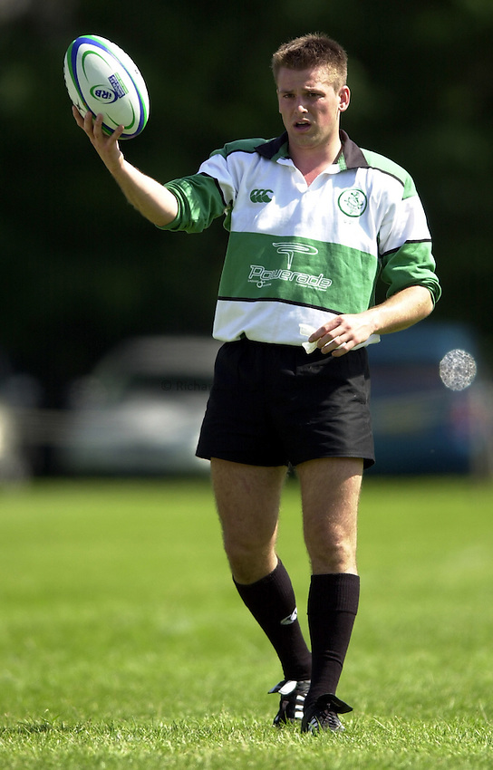 Photo: Richard Lane..South Africa U21 v Ireland U21. IRB Under 21 World Cup at Iffley Road, Oxford..Michael Rainey.