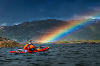 Sea Kayaking along the Galway Coast of Western Ireland