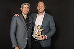 NELSON, NEW ZEALAND - NOVEMBER 21:Andrew Goodman and Wyatt Crockett accept the Team of the Year award on Behalf of the Tasman Mako ASB Sports Awards 2019 Thursday 21 November 2019 at Victory, New Zealand. (Photo by Evan Barnes/Shuttersport Limited)