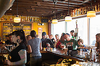 Patrons at Trophy Brewing in Raleigh, N.C. on Saturday, March 14, 2015. (Justin Cook)