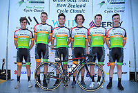 Team Skoa - Fruzio. 2019 Grassroots Trust NZ Cycle Classic UCI 2.2 Tour at St Peter's School in Cambridge, New Zealand on Tuesday, 22 January 2019. Photo: Dave Lintott / lintottphoto.co.nz