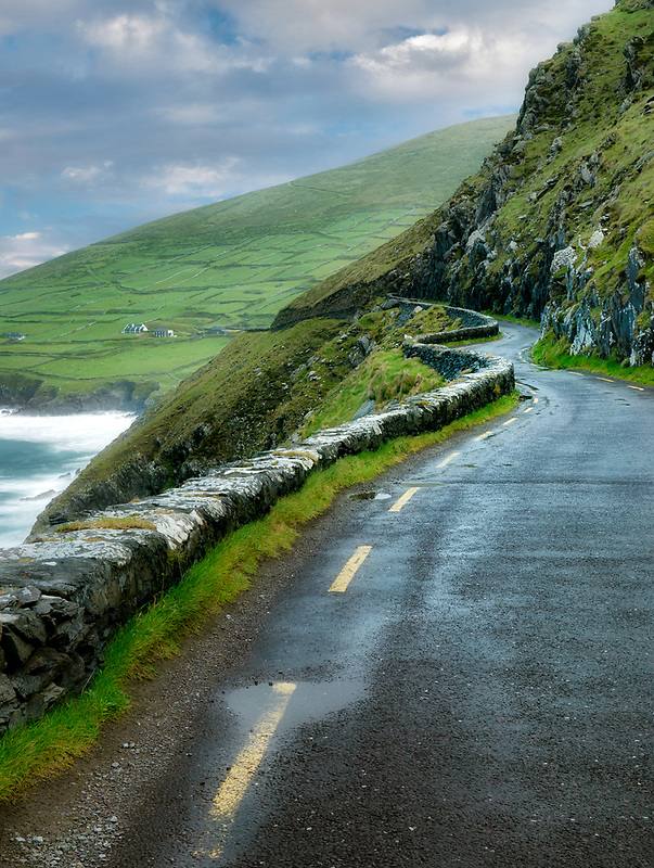 Slea Head road. County Kerry, Ireland