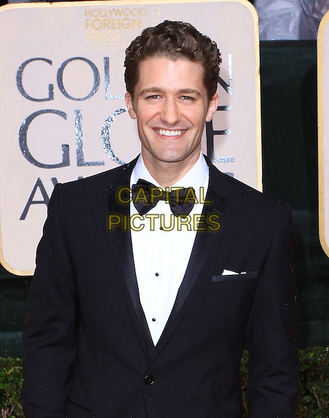 MATTHEW MORRISON.67th Golden Globe Awards held Beverly Hilton, Beverly Hills, California, USA..January 17th, 2010.globes half length black tuxedo bow tie.CAP/ADM/KB.©Kevan Brooks/Admedia/Capital Pictures