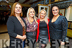 Mags O'Sullivan celebrating her birthday in the Brogue Inn on Saturday night.<br /> L to r:  Laura Whyte, Patricia McGaley, Mags O'Sullivan and Sigita Reidy.