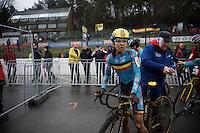 Jolien Verschueren's (BEL) post-race stare<br /> <br /> Elite Women's race<br /> UCI 2016 cyclocross World Championships