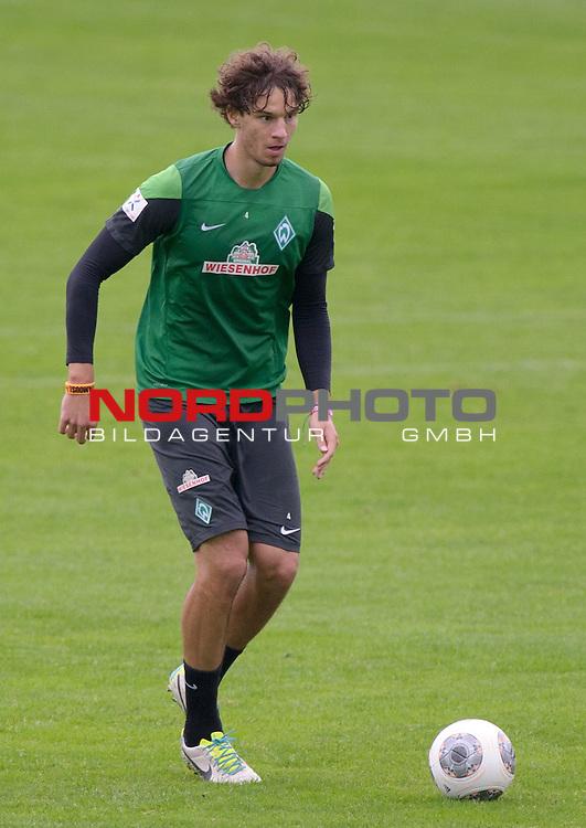 03.09.2013, Trainingsgelaende, Bremen, GER, 1.FBL, Training Werder Bremen, im Bild Mateo Pavlovic (Bremen #4)<br /> <br /> Foto &copy; nph / Frisch